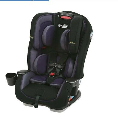 Graco® Milestone with Safety Surround Wynnona Purple Girls Convertible Car Seat