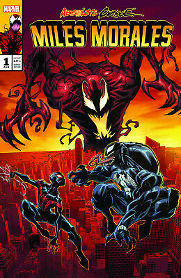 Absolute Carnage Miles Morales 1 Maximum Acclaim Variant Homage Spider-Man Venom