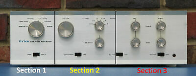 Dynaco PAS-2 / PAS-3 Stereo Selector Switch / Input / Output Board Kit New!