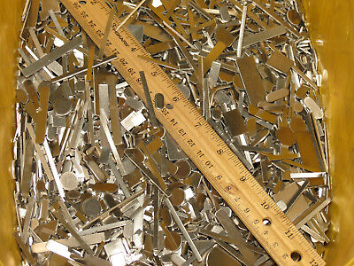 5 POUNDS STAINLESS STEEL SCRAP METAL MACHINE SHOP LEFTOVERS BITS