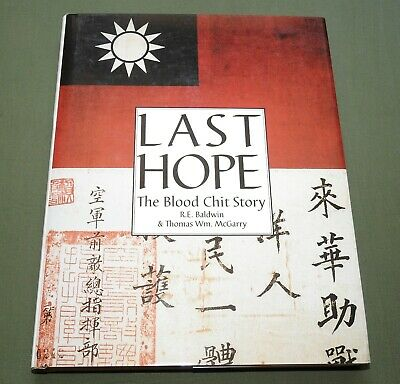 """""""Last Hope"""" Us Army Aaf Ww2 """"Flying Tigers"""" Pilot Blood Chit Reference Book G"""