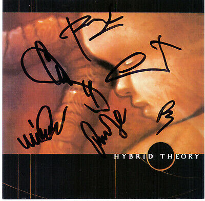 Linkin Park Hybrid Theory Ep Signed 60 00 Picclick