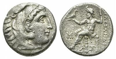 LAC  Kings of Macedon, Alexander III 'the Great' (336-323 BC). AR Drachm N52