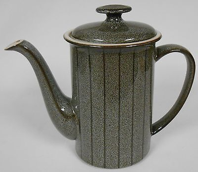 Denby SATURN PATTERN Coffee Pot w/Lid AS IS Made in England