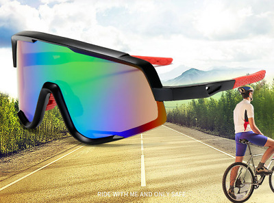 Bike Cycling Goggles Outdoor Sports Cycling Glasses Clear Full Frame Sunglasses