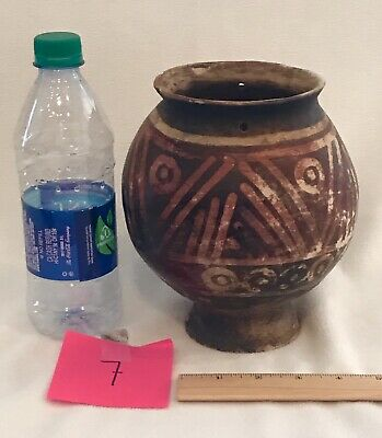 7) PRE COLUMBIAN NARINO Pottery Water VASE VESSEL SOUTH AMERICA Columbia