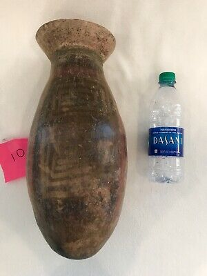10 PRE COLUMBIAN NARINO BULLET  URN CLAY VASE Pottery South AMERICA Columbia