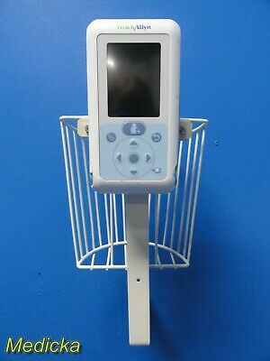 Welch Allyn ProBP 3400 Series BP Monitoring Device W/ Hook Stand+Basket ~ 19124
