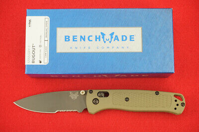 Benchmade 535Sgry-1 Bugout Cpm-S30V Axis Lock, Gray Pvd Coated Blade Knife, New