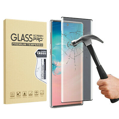 HD Tempered Glass Clear Screen Protector For Samsung Galaxy Note 10/10+Plus 5G