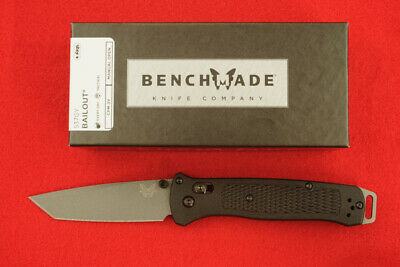 Benchmade 537Gy Bailout Cpm-3V Axis Lock Tanto Blade Knife Ultralight New/Box