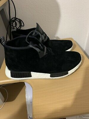 ADIDAS ORIGINALS NMD_C1 S79148 Black Red Blue Chukka City
