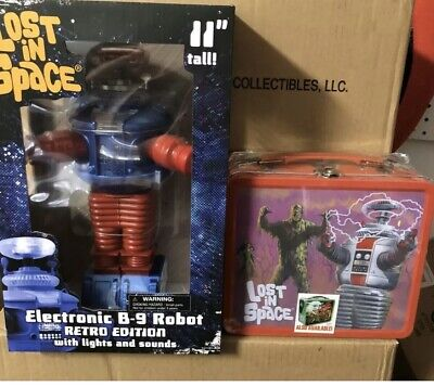 Lost In Space B9 Retro Style Electronic Robot Figure DST + Bottle Opener