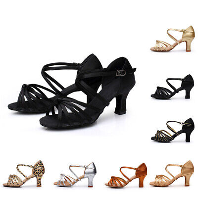 Casual Shoes Sandals Stilettos Ballroom Latin Dance Dancing Size 1*Pair