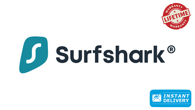 SurfShark VPN - Lifetime | Instant Delivery |⚡️2 Years Warranty ⚡️24/7 Support