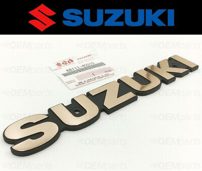 Genuine Suzuki GSF1200 T to Y Emblem Gold 68111-47C10-24G