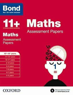 Bond 11+: Maths: Assessment Papers 12+-13+ years by David Clemson 9780192740205