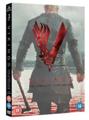 Katheryn Winnick, George Bl...-Vikings: The Complete Third Season DVD NEW