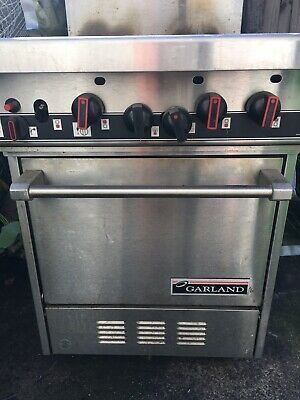 Garland Four Burner Stove Oven