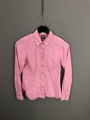 JOULES Shirt - Size UK8 - Pink - Great Condition - Women's