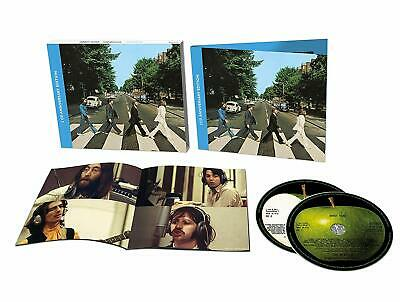 The Beatles - Abbey Road (50th Anniversary) Deluxe 2 CD ALBUM NEW (27TH SEP)
