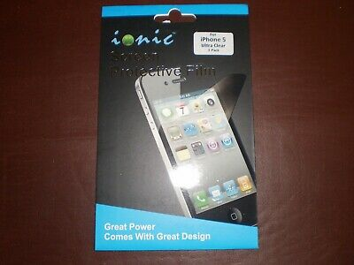 Iphone 5 Ultra Clear Screen Protective Film (3-Pack)