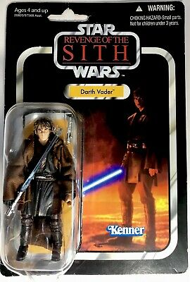 NEW Kenner Star Wars Revenge Of The Sith Darth Vader 2002 Action Figure VC13