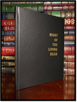 Night Of The Living Dead ✎SIGNED✎ GEORGE A ROMERO & RUSSO Anubis Hardback 1/1000