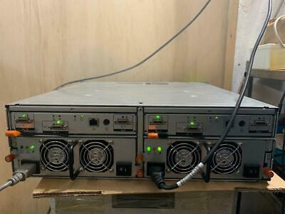 Dell PowerVault MD1000 SAS/SATA Storage Array Dual Controllers & Power Supplies.