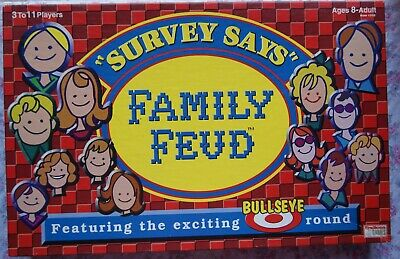 VINTAGE 1990 FAMILY Feud Board Game - $13 64 | PicClick