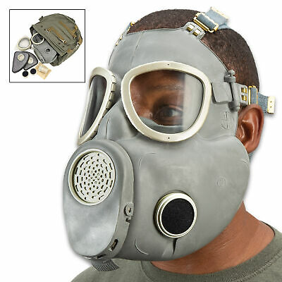 REAL Polish Bulldog Military Gas mask MP4 Army Filter respiratory surplus