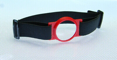 Freestyle Libre Sensor Flexible Armband/Holder Protects Your Sensor Red