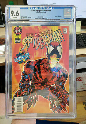 AMAZING SPIDER-MAN #410 - CGC Grade 9.6 - Web of CARNAGE: Part 2!