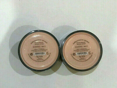 BareEscentuals bareMinerals MINERAL VEIL Finishing Face Powder 9g *PACK OF TWO*