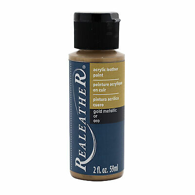 Acrylic Leather Paint - Gold