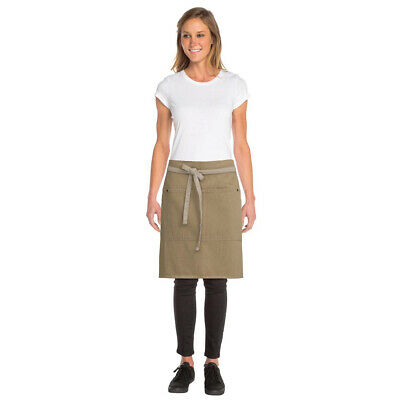 Half Apron Urban Natural Chefworks Austin Contemporary Barista Cafe Bar Waiter