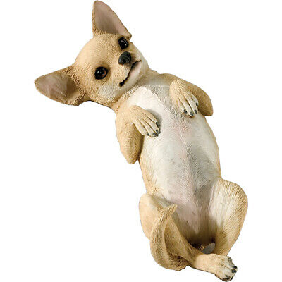 ♛ SANDICAST Dog Figurine Sculpture Chihuahua Brown Tan
