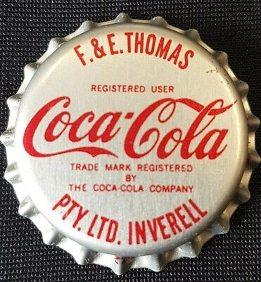 1980,s Coca Cola Crown Seal Bottle Cap Unused Mint PVC Lined