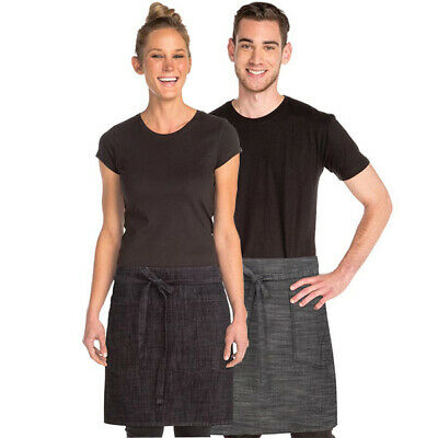 Half Apron Urban Chefworks Corvallis Contemporary Barista Cafe Bar Black OR Grey