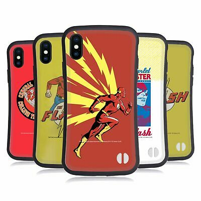 OFFICIAL THE FLASH DC COMICS FAST FASHION HYBRID CASE FOR APPLE iPHONES PHONES