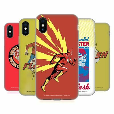 OFFICIAL THE FLASH DC COMICS FAST FASHION SOFT GEL CASE FOR APPLE iPHONE PHONES