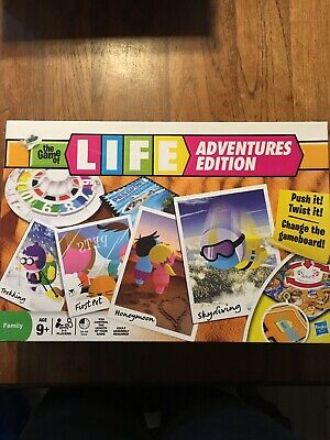Hasbro The Game Of Life Adventures Edition