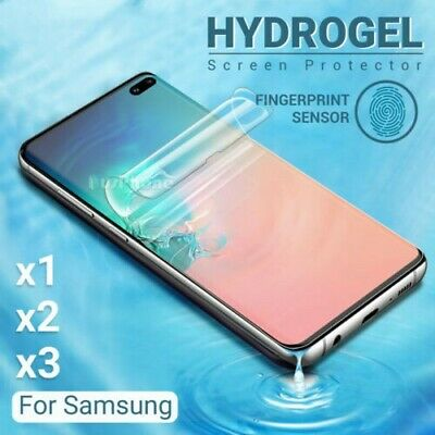 For SAMSUNG GALAXY S10 5G S10e Note 10 Plus HYDROGEL AQUA FLEX Screen Protector