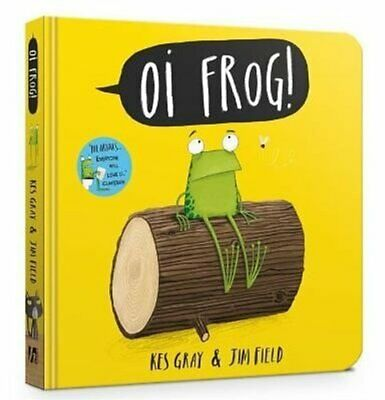 Oi Frog! Board Book by Kes Gray 9781444933796 | Brand New | Free UK Shipping
