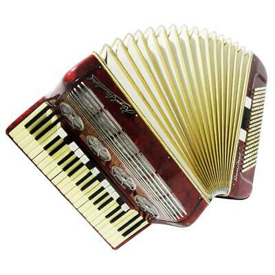 Royal Standard Grand Concert, 140 Bass, Luxury German Piano Accordion, Case 1104