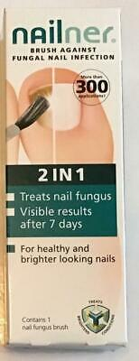 Nailner Fungal Nail Infection 2 in 1 Brush - 5ml (Brand New)