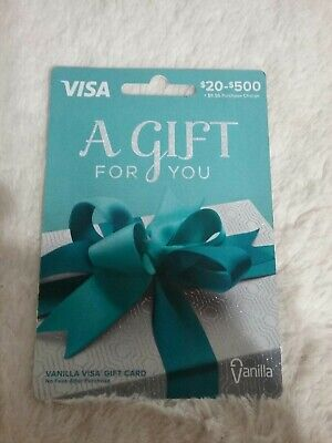 $400 Activated, Non-reloadable, Ready to Use Gift Card SEE MY FEEDBACK