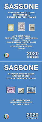2020 Catalogo Catalogo Sassone vol 1 + 2