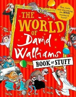 The World of David Walliams Book of Stuff Fun, Facts and Everyt... 9780008293253