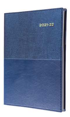 Collins Vanessa 2020 - 2021 Financial Year Diary A5 Day to Page Navy Blue FY185